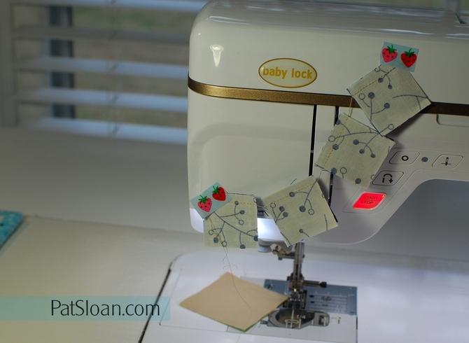 Pat Sloan Inside chain sewing