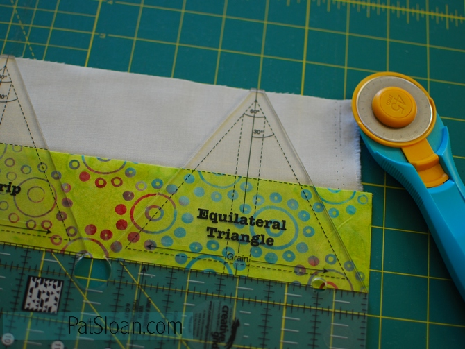 Pat Sloan Little Ruby Sew along part 2 pic1