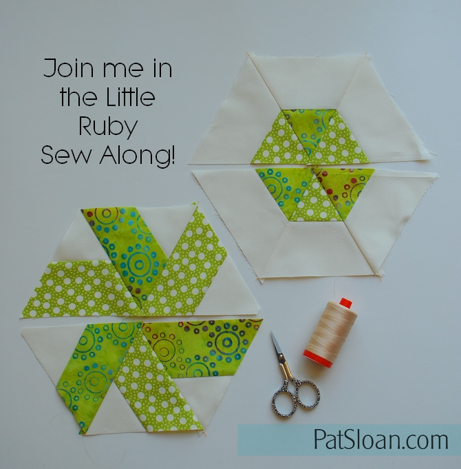 Pat Sloan Little Ruby Sew along part 2 pic5