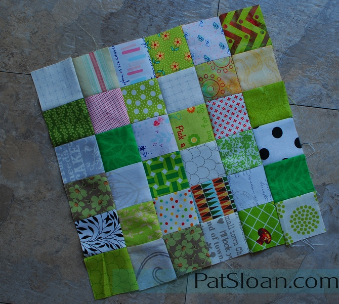 Pat Sloan Best use of 2inch squares 7
