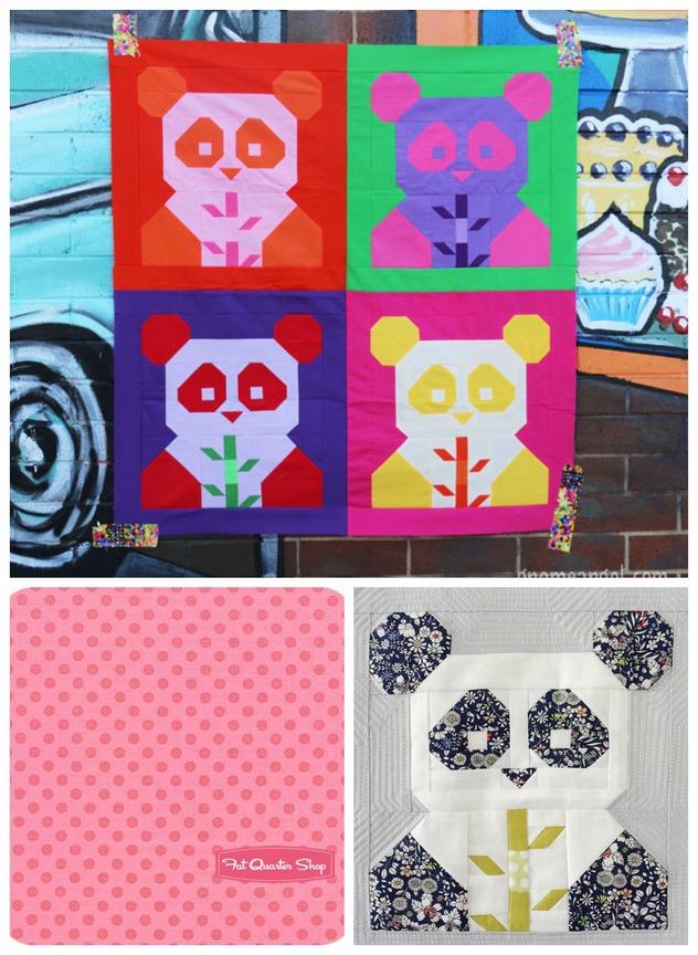 Pat sloan panda monium collage