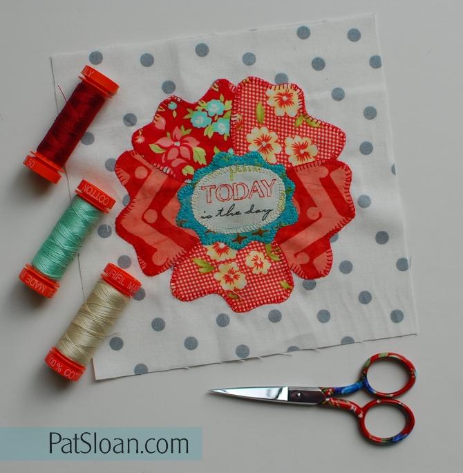 Pat Sloan block 68 Splendid Sampler pic 2