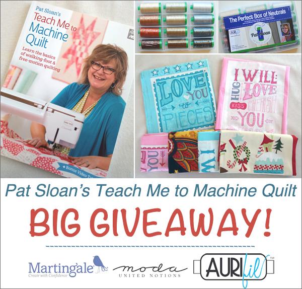 Pat Sloan Book Giveaway