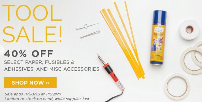 Tool sale banner