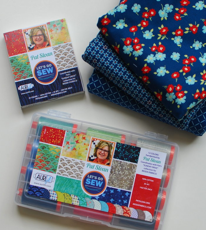 Pat sloan aurifil thread