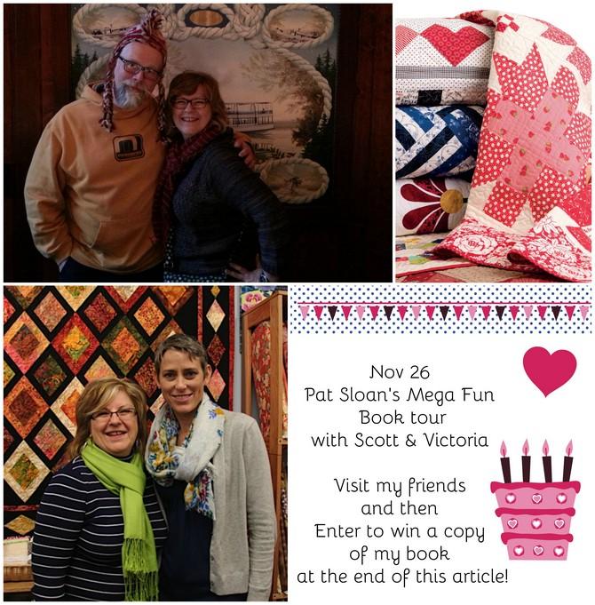 Pat Sloan Nov 26 book toura
