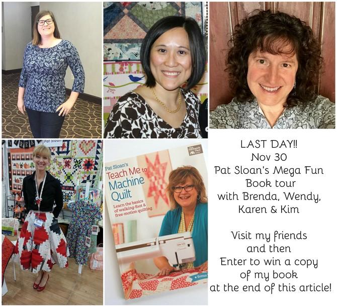 Pat Sloan Nov 30 book tour