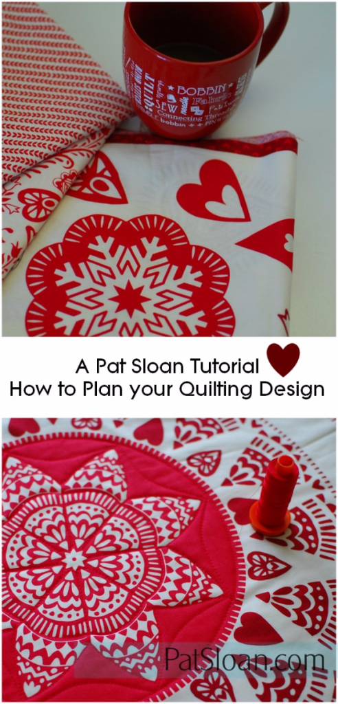 Pat Sloan how to plan your quilting tut1