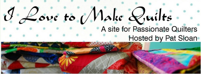 I love to make quilts fabric banner3