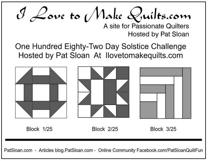 Pat Sloan Solstice Challenge block 3