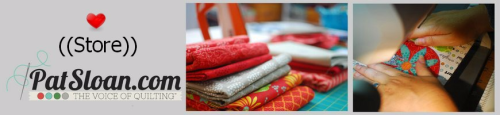 2013 pat sloan quilt store banner