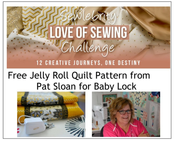 my day on the baby lock love of sewing challenge   free