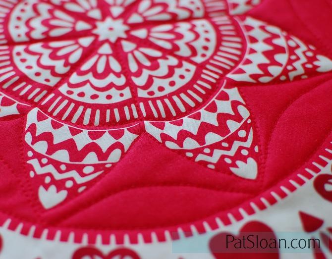 Pat Sloan Plan your Quilting design closeup 1