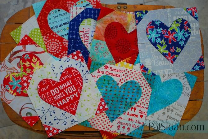 Pat sloan group of hearts 1