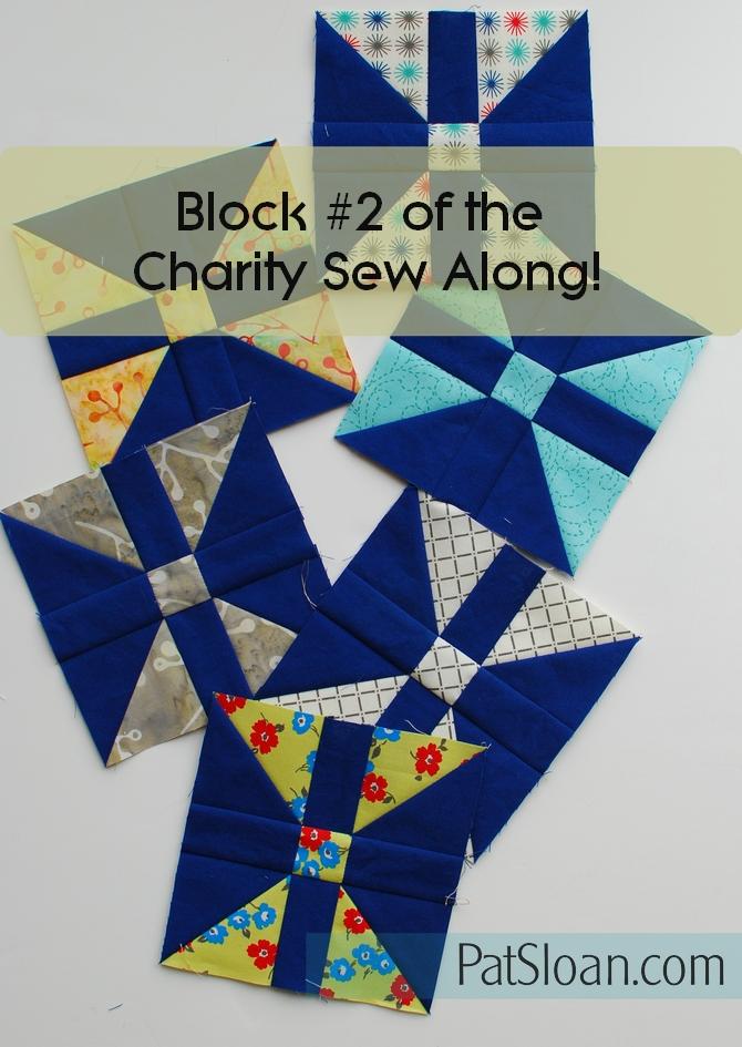 Pat Sloan Patchwork Charity block 2 banner