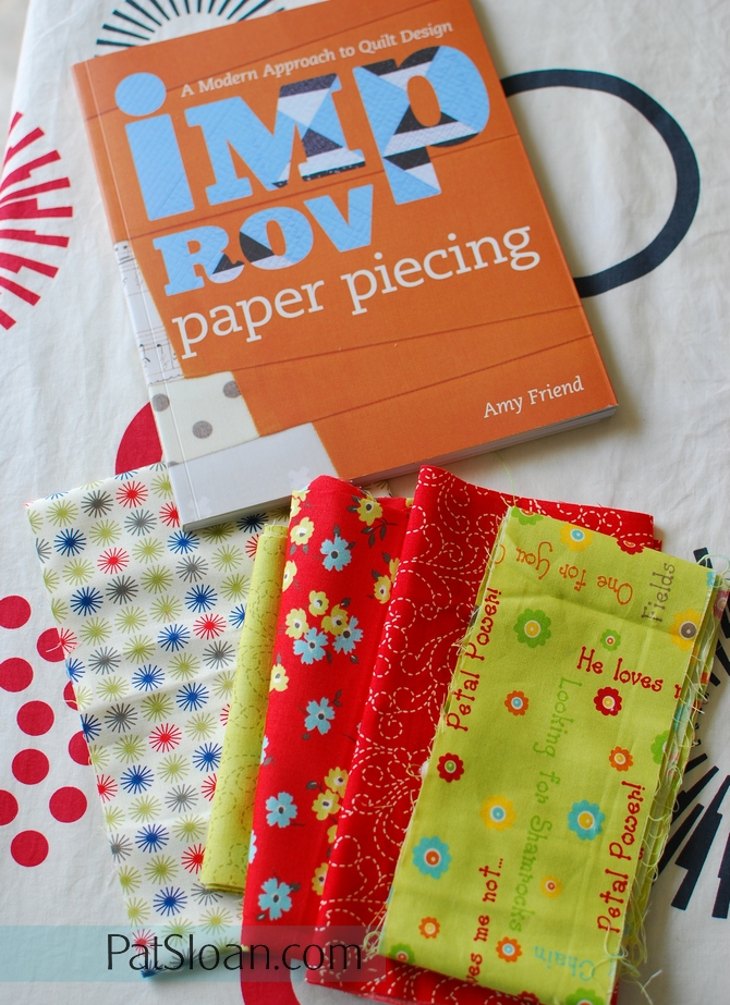 Pat sloan improv paper piecing