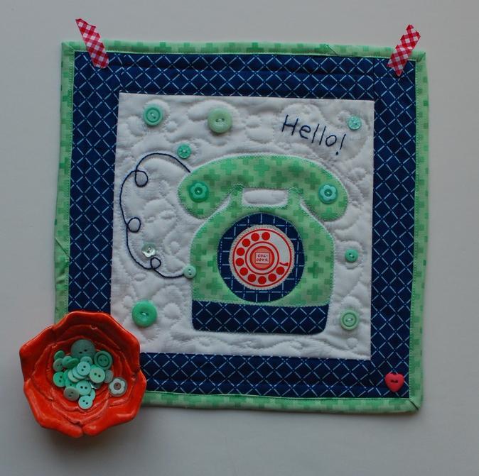 Pat Sloan Mint Button project pic1