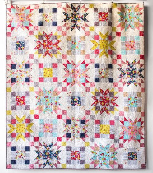 Wallflower quilt 2