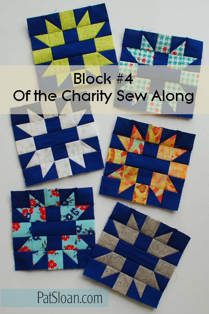 Pat Sloan Patchwork Charity block 4 banner