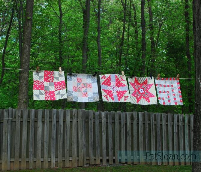 Pat sloan block 1 to 5 children's garden