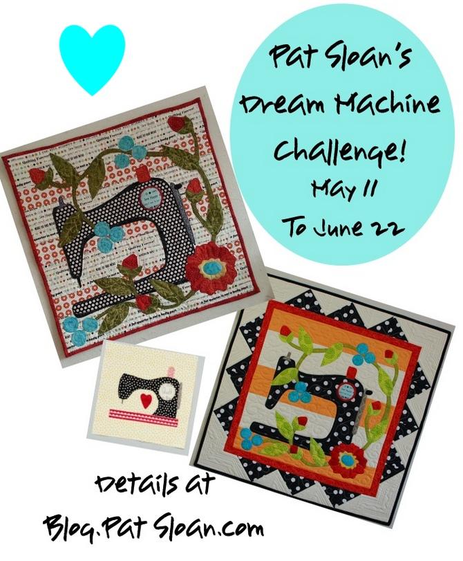 Pat Sloan Dream Machine collage