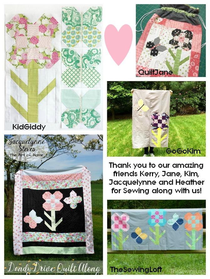 Pat Sloan Dandy drive designer quilts