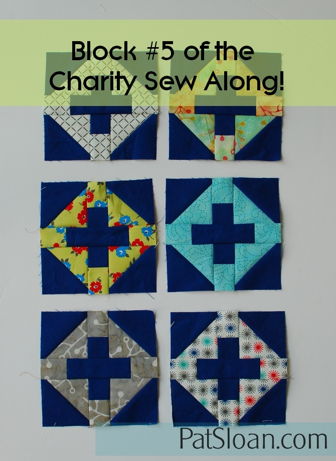 Pat Sloan Patchwork Charity block 5 banner