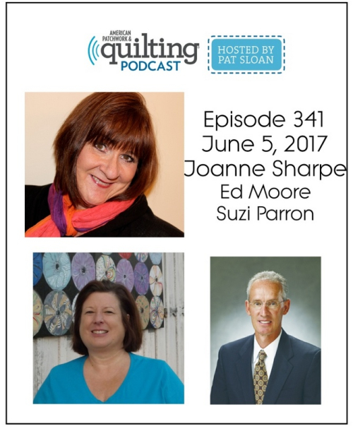 1 American Patchwork Quilting Pocast episode 341