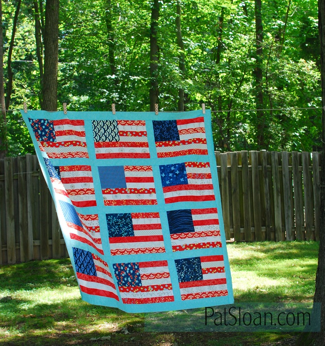 Pat sloan grand ole flag 1