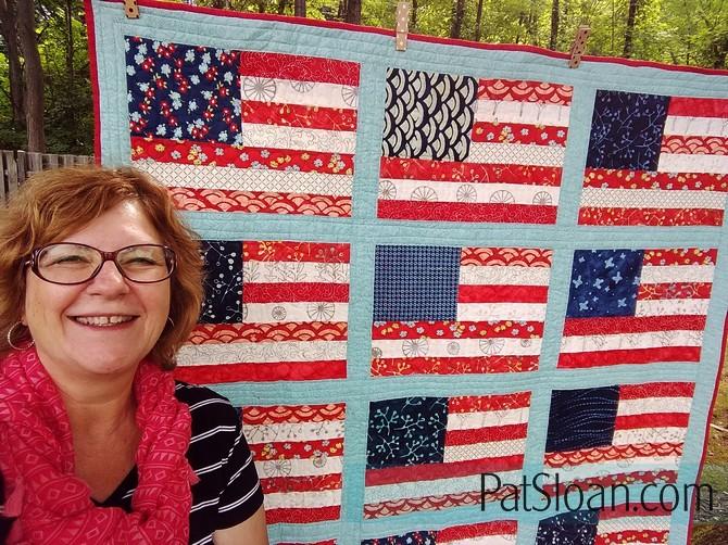 Pat sloan grand ole flag done 1