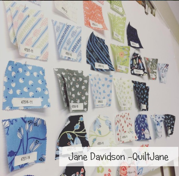 Jane davidson fabric swatches