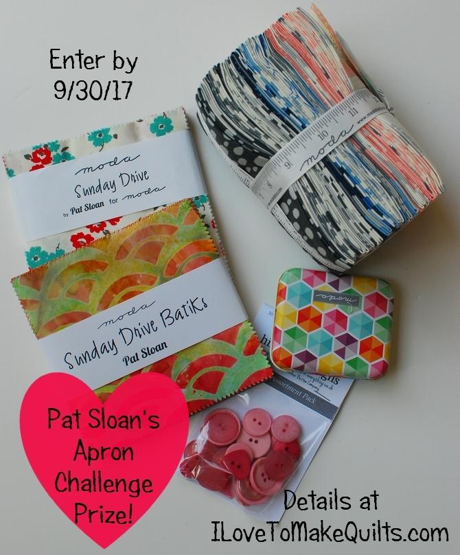 Pat Sloan Apron Challenge prize