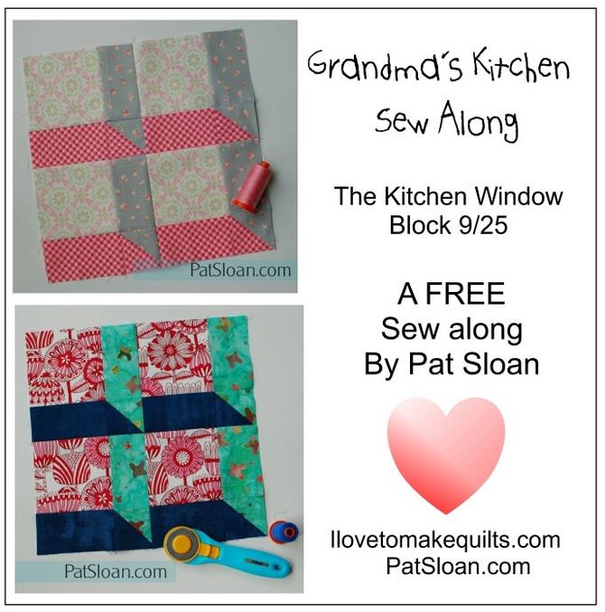 Pat Sloan Block 9 Grandmas Kitchen button