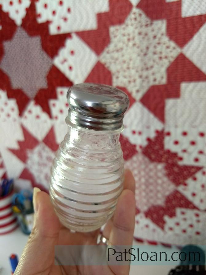 Pat Sloan salt shaker