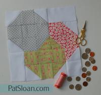 Pat Sloan Block 16 quilt Grandmas Kitchen pic2