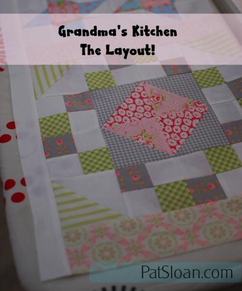 Pat Sloan Grandma Kitchen banner