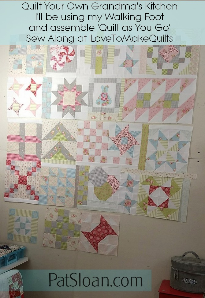 Pat sloan Quilt As You go sections pic 3