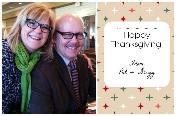 Pat and gregg thanksgiving!
