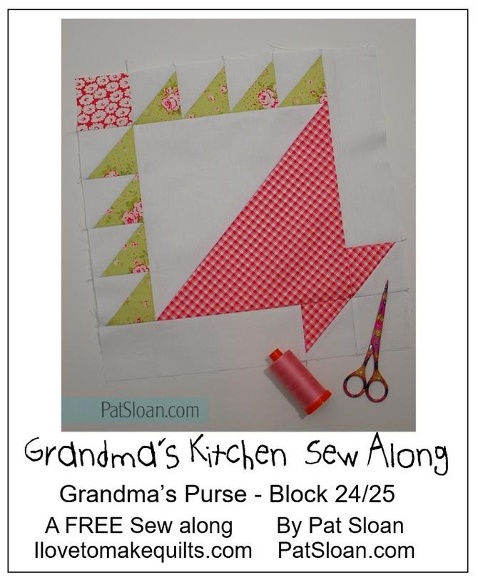 Pat Sloan Block 24 Grandmas Kitchen button 2