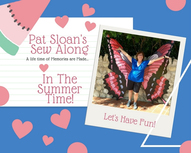 Pat sloan In the summer time announcement