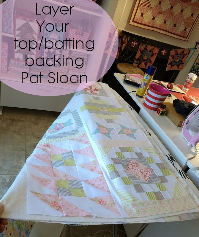 Pat Sloan quilt your own quilt assigment 1 pic 3