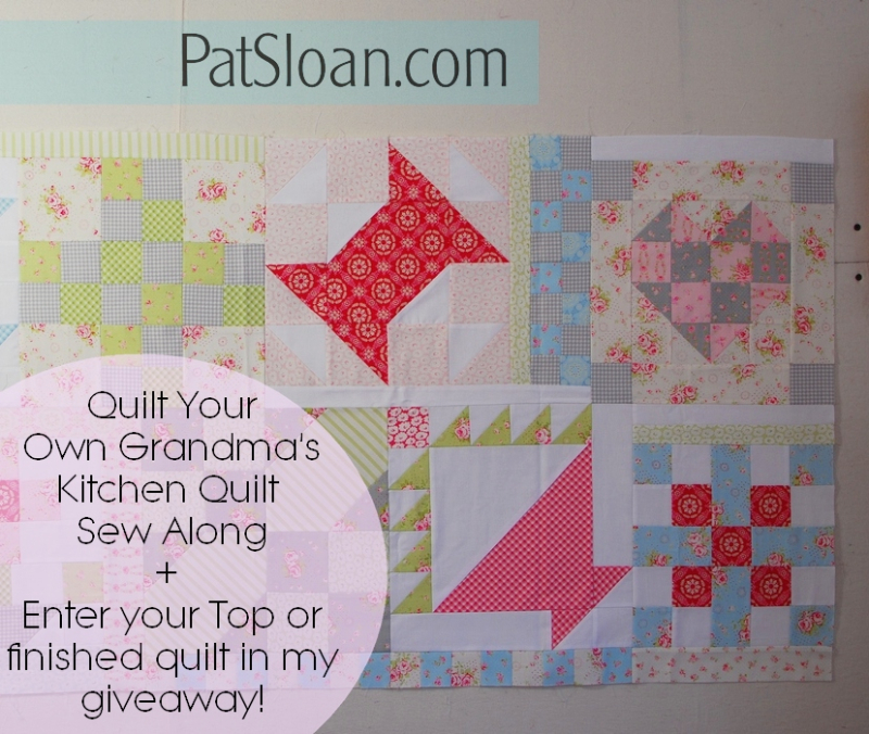 Pat sloan Quilt Your own quilt banner5
