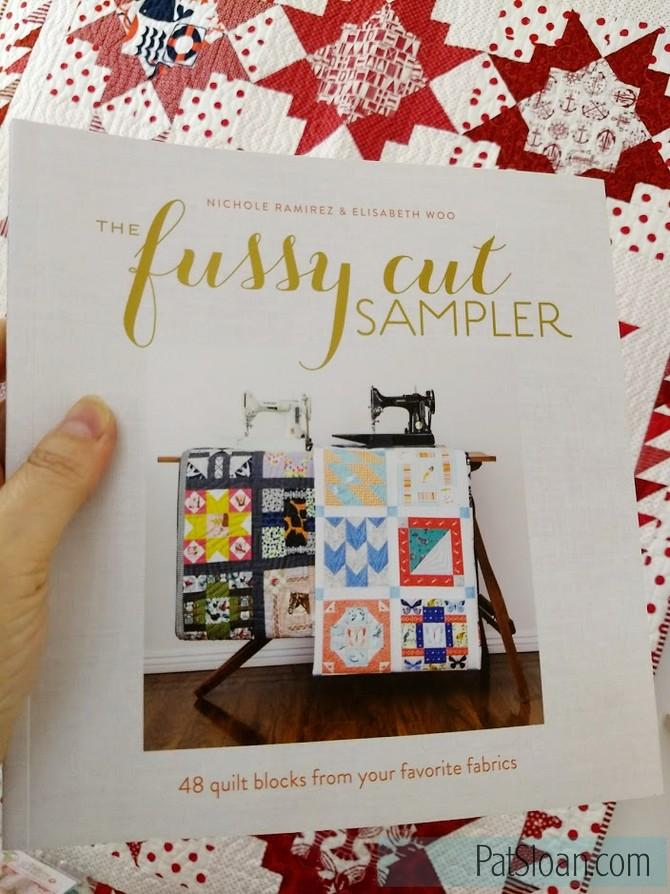 Pat sloan bonus giveaway fussy cut sampler