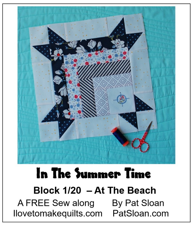 Pat Sloan Block 1 In the Summer Time banner