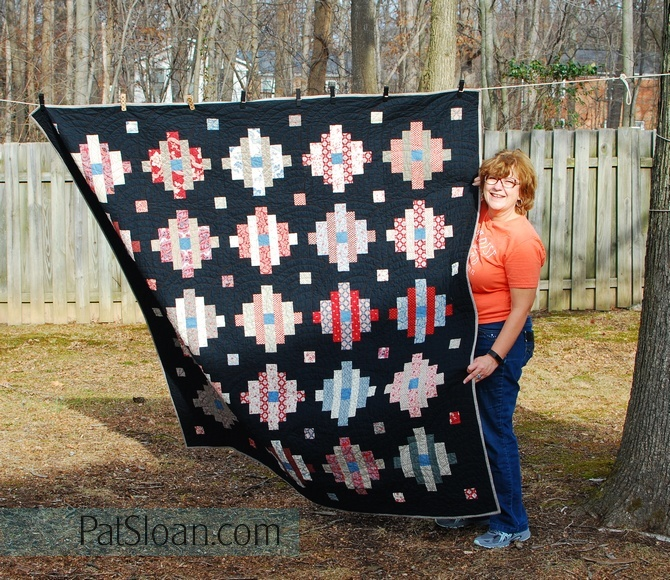 Pat Sloan Frank Quilt pic 1