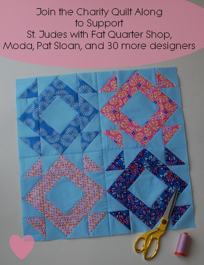 Pat sloan 2018 charity sew along block 2pic2