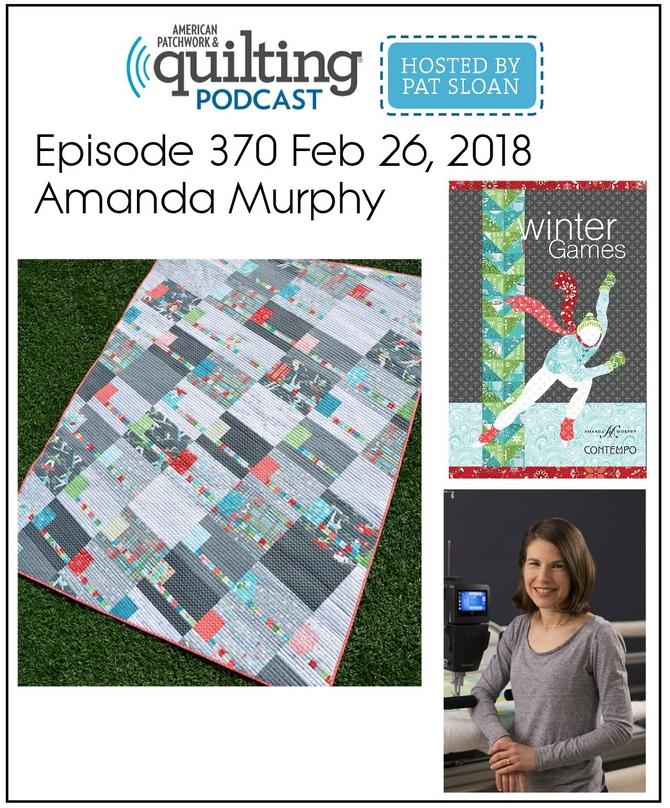 American Patchwork Quilting Pocast episode 370 Amanda Murphy