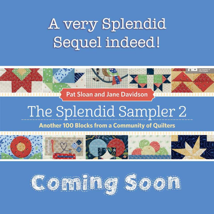 Pat sloan very splendid 2 coming soon