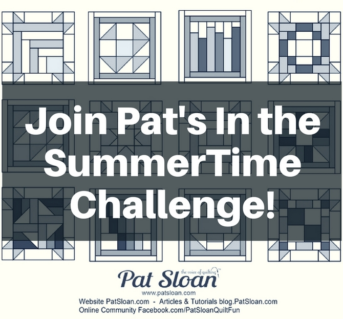 Join Pat's In the SummerTime Challenge_2
