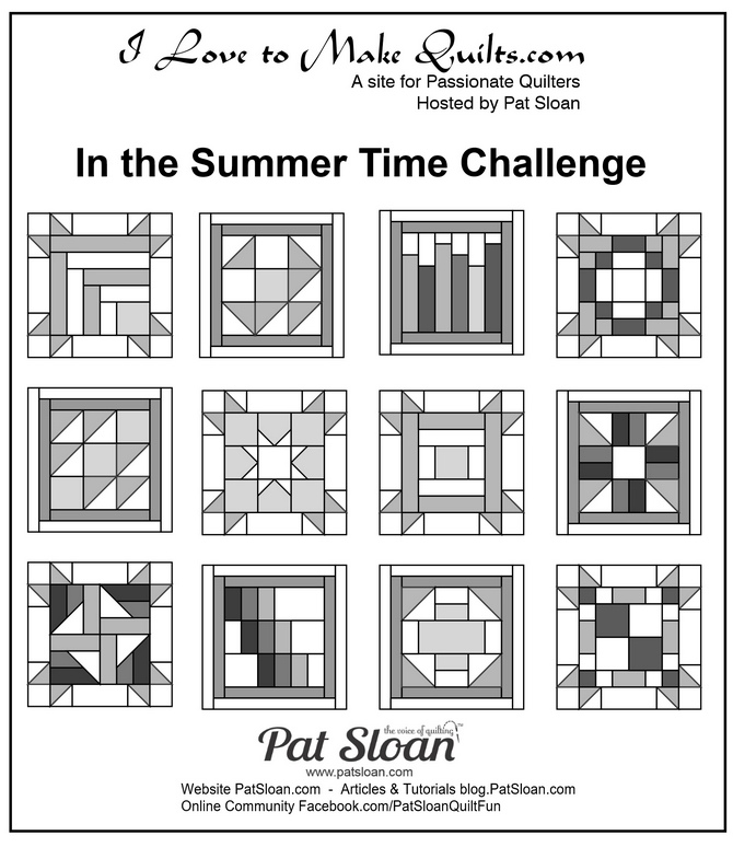 Pat Sloan In the Summer Time challenge